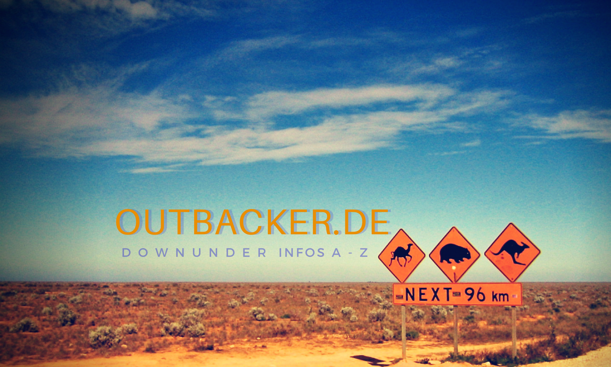 OUTBACKER DownUnder Infos A-Z
