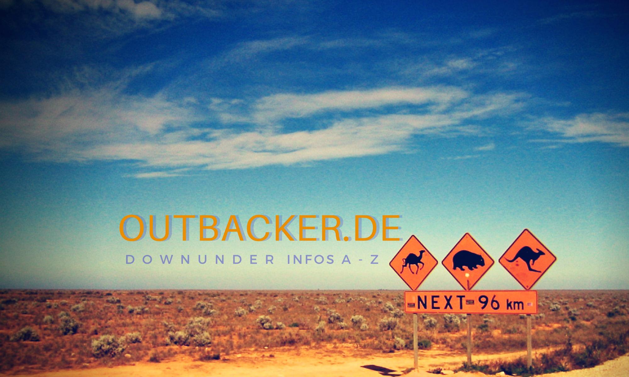 OUTBACKER DownUnder Infos A-Z